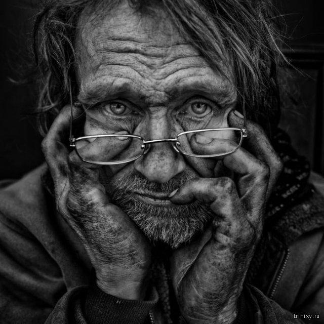 Бездомные люди на фото Ли Джеффриса