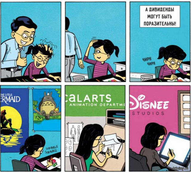 Комикс о том, как важно, чтобы в нас кто-то верил