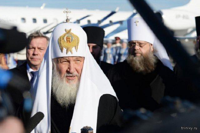 Патриарх Кирилл считает отечественное кино причиной деградации личности