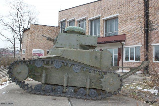 Легкий пехотный танк МС-1