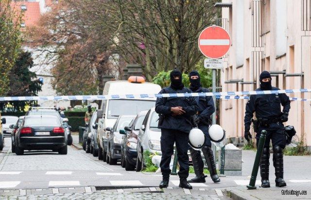 В Брюсселе в районе проведения антитеррористической операции прогремел взрыв
