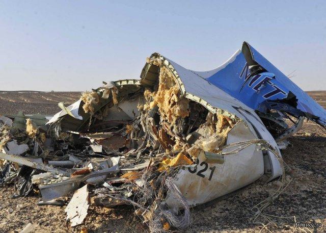 Причиной крушения российского самолета стал теракт