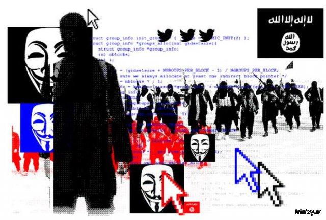 Anonymous нанесли свой первый удар в кибервойне против ИГИЛ