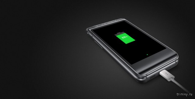 Samsung официально представила Android-раскладушку W2016