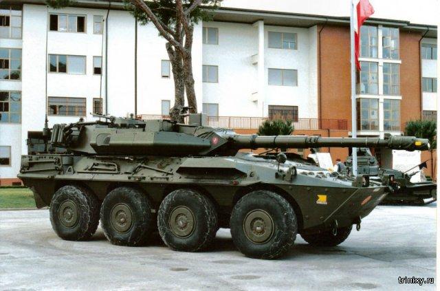 Про танки. Боевая машина Centauro \