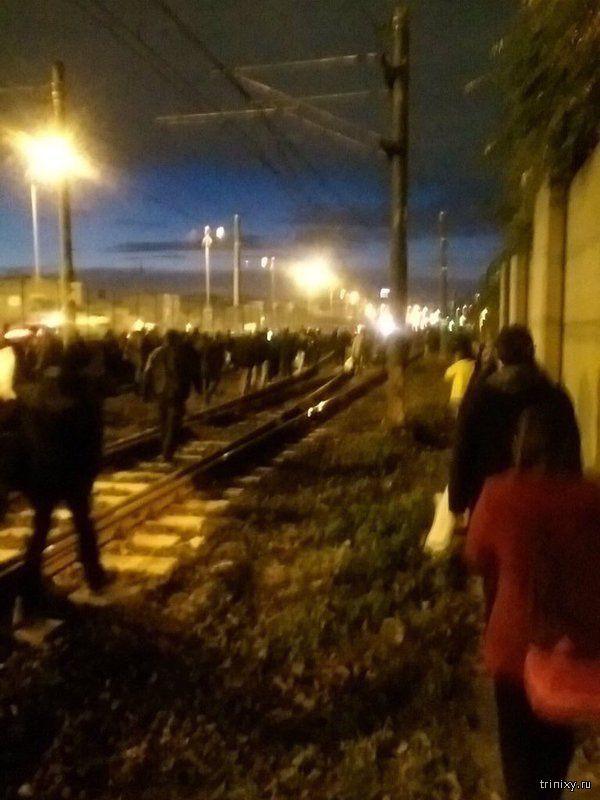 На станции метро в Стамбуле произошел мощный взрыв