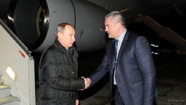 Владимир Путин лично открыл первую линию энергомоста в Крым