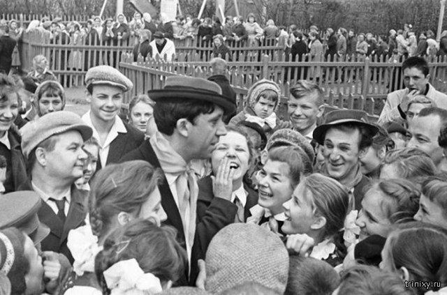 Редкие и интересные фото советских знаменитостей
