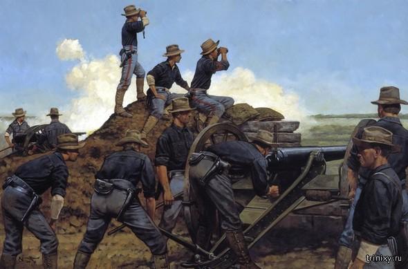 Картины про войну художника Keith Rocco