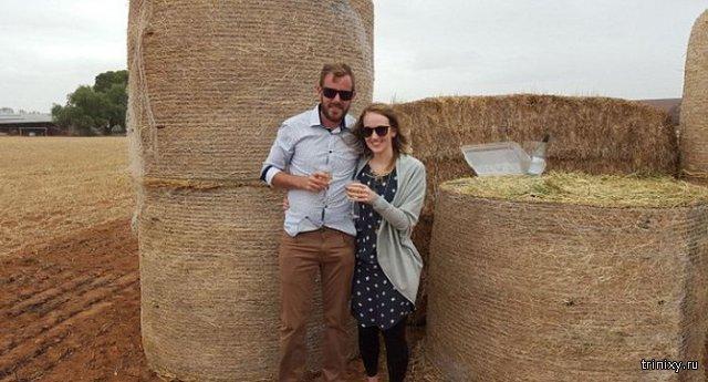 Австралийский фермер сделал оригинальное предложение руки и сердца