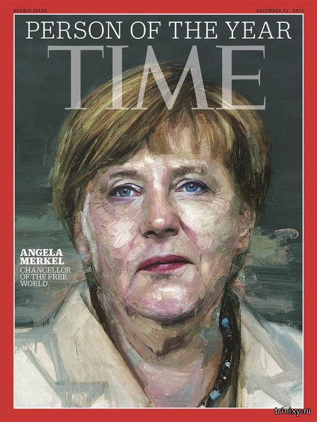 Ангела Меркель стала \