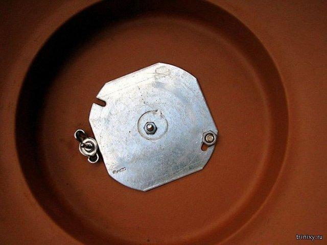 Самодельная коптильня из глиняного горшка и небольшой электроплиты
