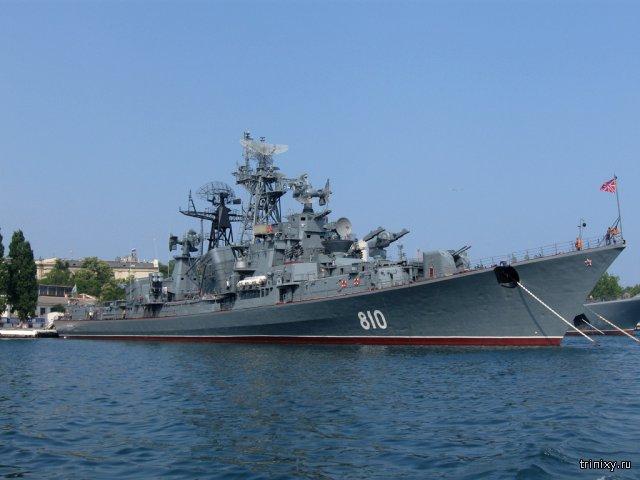 Российский сторожевой корабль «Сметливый» открыл предупредительный огонь по турецкому сейнеру