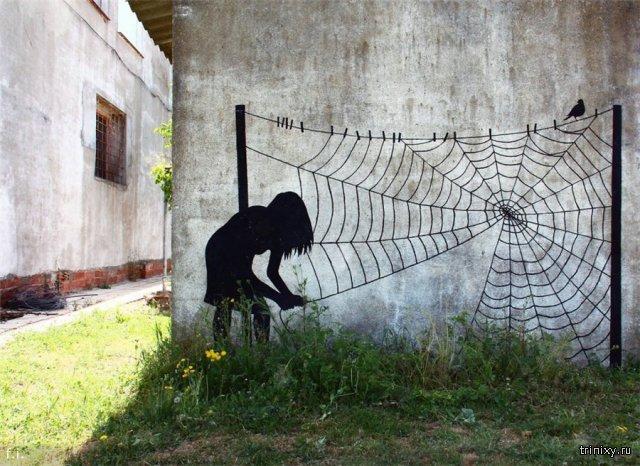 Стрит-Арт на улицах мира. Рисунки на стенах, граффити