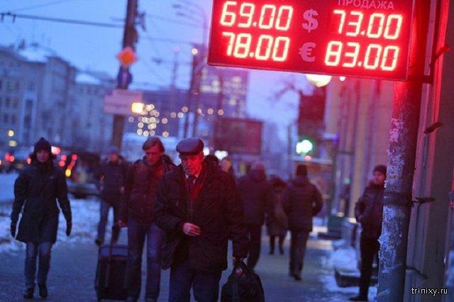 Рубль установил новый минимум с 1998 года