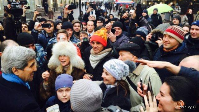 Визит Джона Керри в Москву
