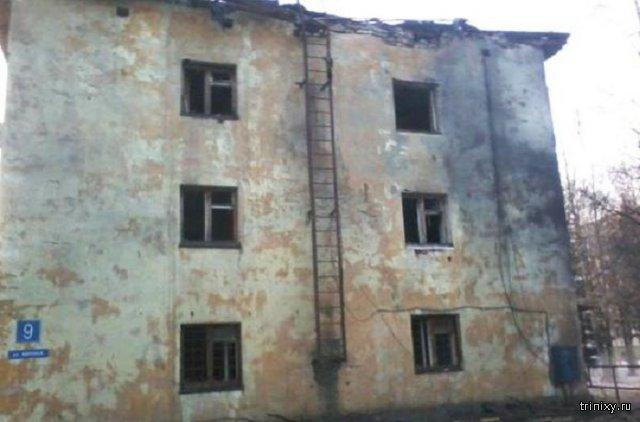 В Архангельской области обломки крылатой ракеты упали на жилой дом