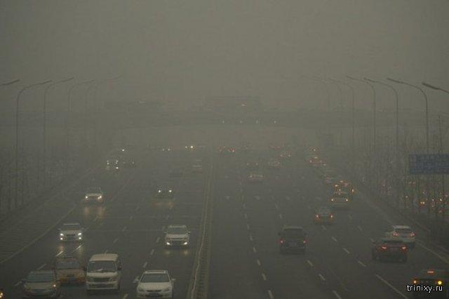Китай вынужден покупать свежий воздух у Канады (6 фото)