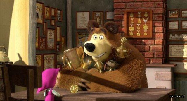 Один из эпизодов мультфильма «Маша и Медведь» набрал более миллиарда просмотров на YouTube