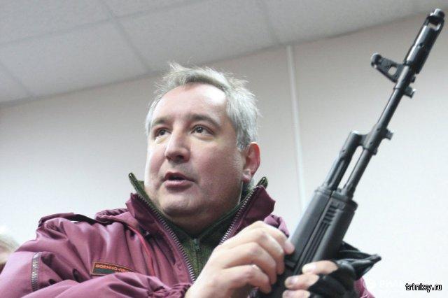 Вице-премьер Дмитрий Рогозин ранил себя в ногу во время тренировочной стрельбы