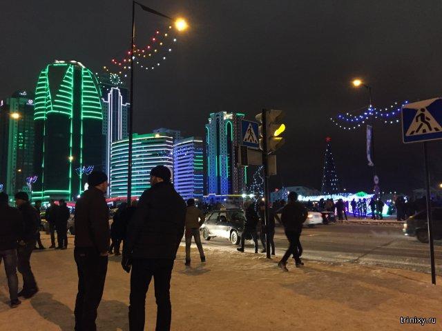 Новогодняя ночь в Грозном