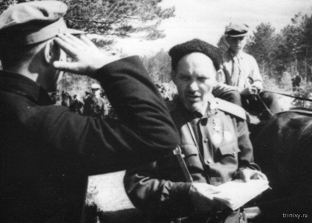 Поступок партизанского командира на гражданке