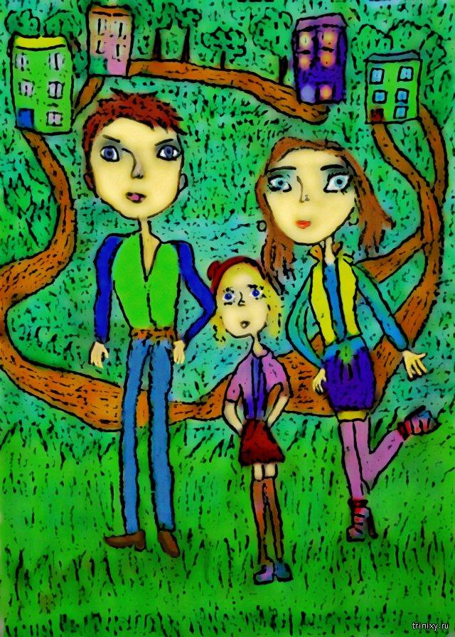 Детские рисунки глазами взрослых.