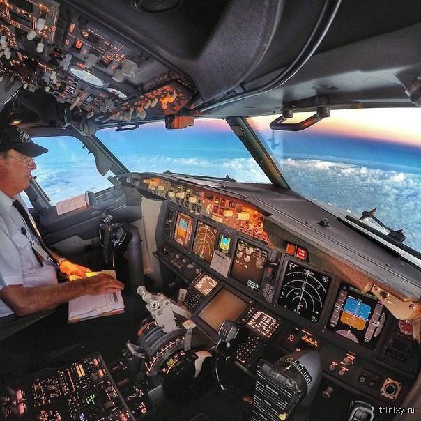 Обычный день австралийского пилота