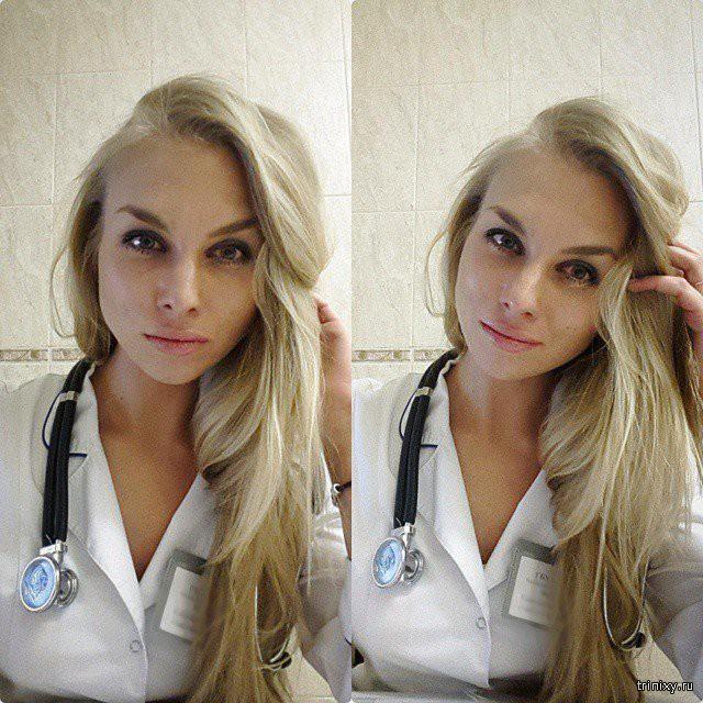Симпатичные девушки-медработники