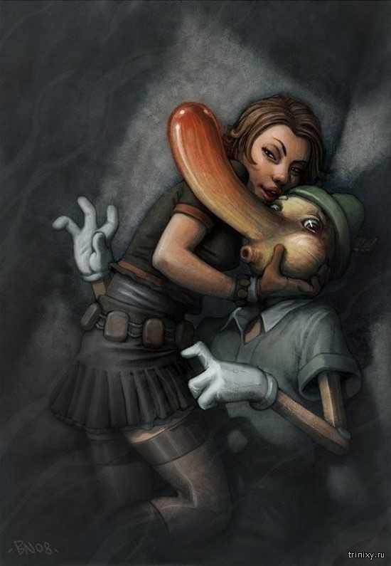 Сексуальные героини детских сказок