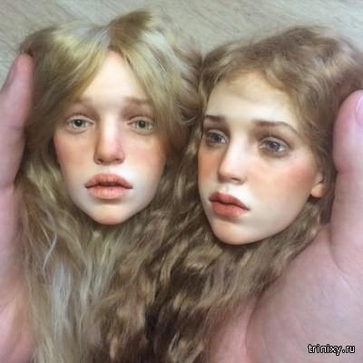 Куклы с потрясающе реалистичными лицами