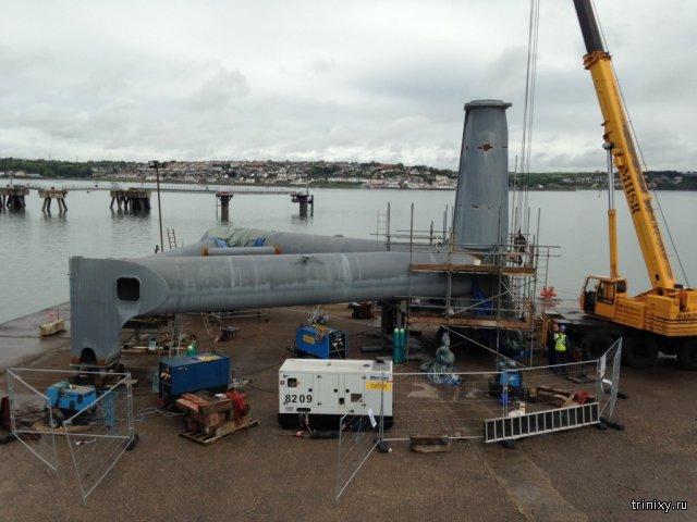 Самый большой в мире подводный генератор