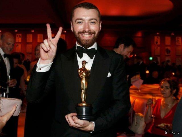 Певец Сэм Смит трижды ошибся, рассуждая о том, каким по счёту геем, выигравшим «Оскар», он стал