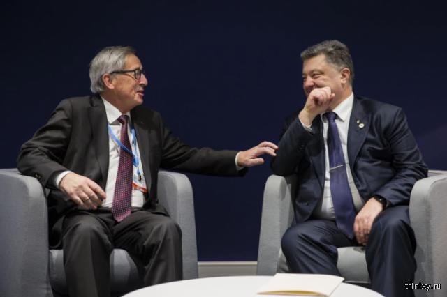 Юнкер исключил вступление Украины в ЕС и НАТО в ближайшие 25 лет