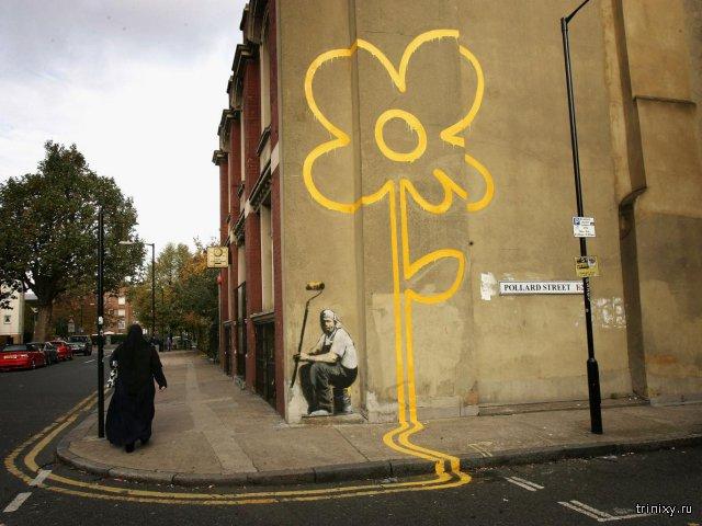 Британские ученые установили личность уличного художника Бэнкси