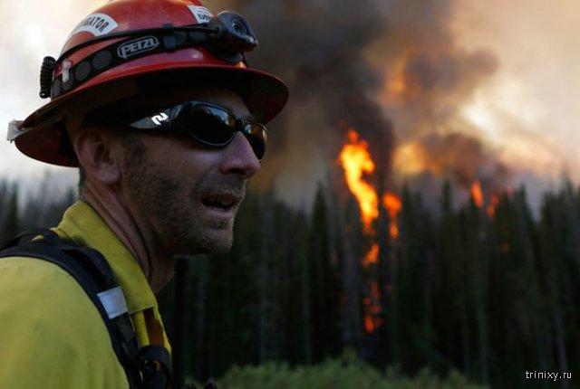 Взаимовыручка во время пожара на Аляске