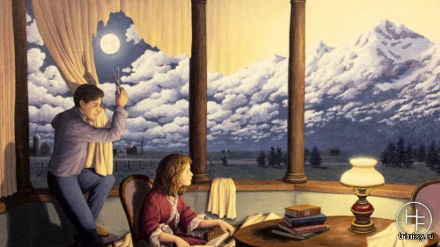 Удивительные оптические иллюзии от Роберта Гонсалвеса