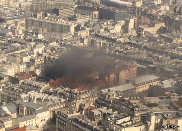 В жилом доме в центре Парижа произошел взрыв