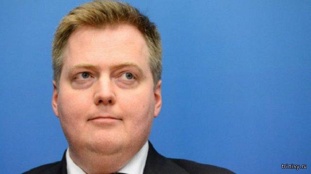 Премьер-министр Исландии Сигмюндюр Гюннлейгссон подал в отставку