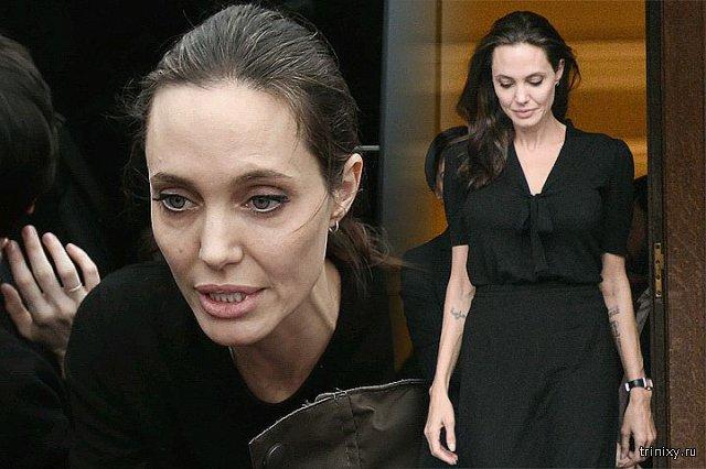 Анджелина Джоли госпитализирована в критическом состоянии