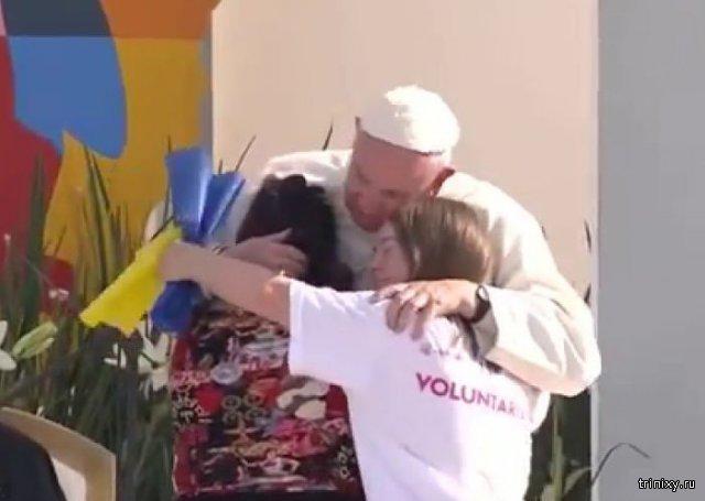 Украинские СМИ приняли международный символ синдром Дауна за национальный флаг