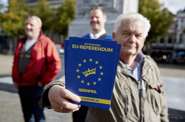 Голландцы проголосовали против ассоциации Украины с Евросоюзом