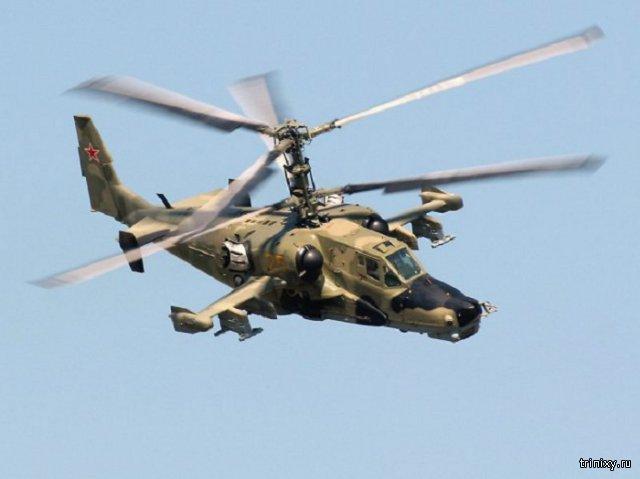 В Сирии потерпел крушение вертолет Ми-28Н ВКС России