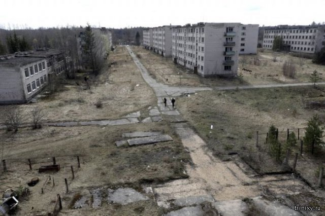 Город-призрак в Латвии