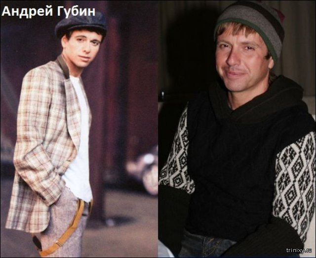 Известные российские поп-исполнители \