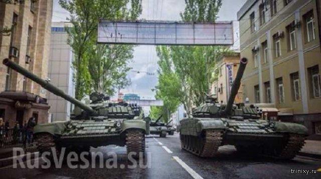 Парады в честь Дня Победы в ДНР и ЛНР