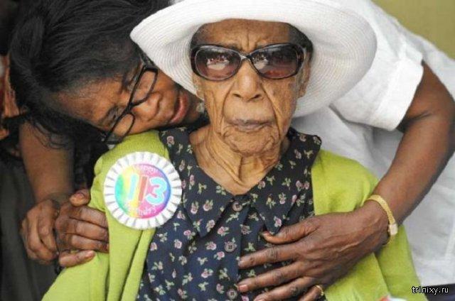 В США умерла старейшая жительница планеты Сюзанна Мушатт Джонс