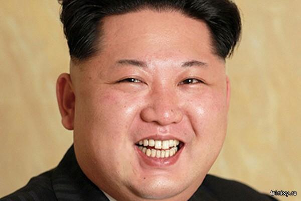 Портрет Ким Чен Ына без ретуши вдохновил интернет-пользователей на фотожабы