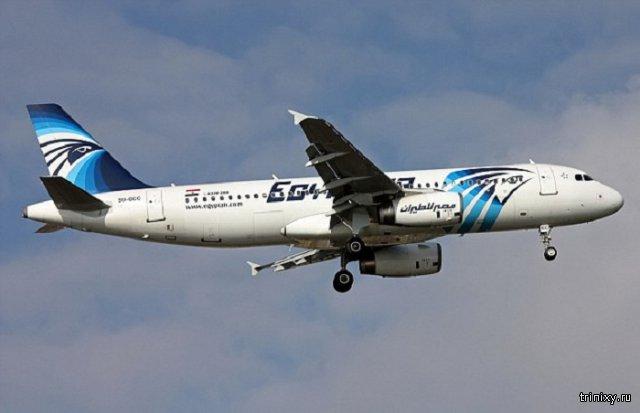 Рейс Париж - Каир компании EgyptAir пропал