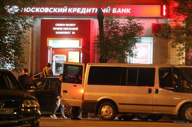 В Москве застрелили преступника, захватившего заложников в банке